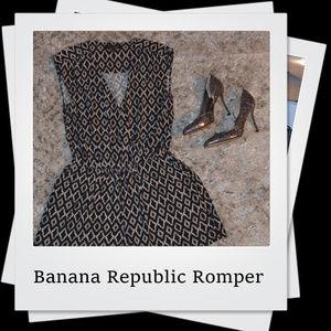 NWOT | VTG Banana Republic Romper